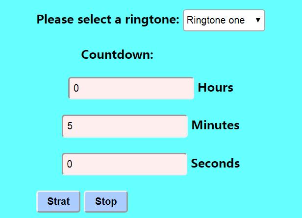 5 Minutes Timer - Set Timer for 5 Minutes