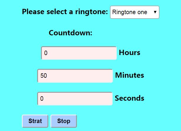 50 Minutes Timer - Set Timer for 50 Minutes
